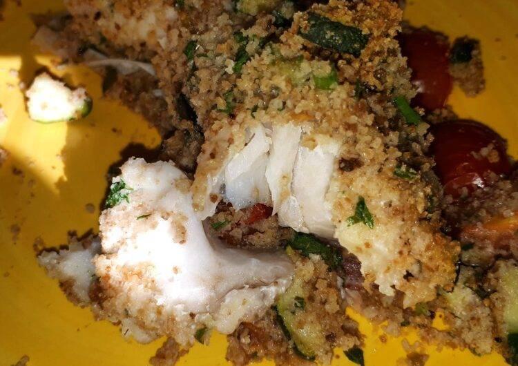 filetto di merluzzo gratinato