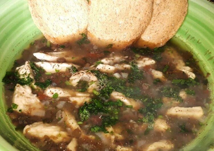 lenticchie e pollo