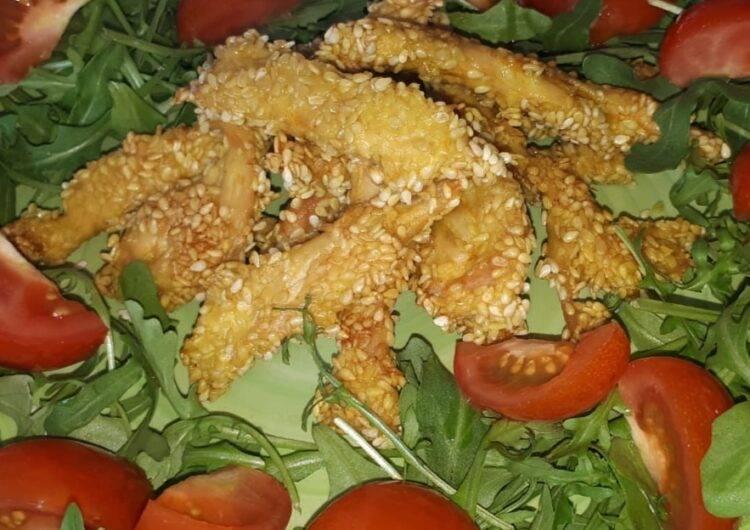 pollo speziato alla curcuma