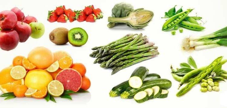 Aprile frutta e verdura
