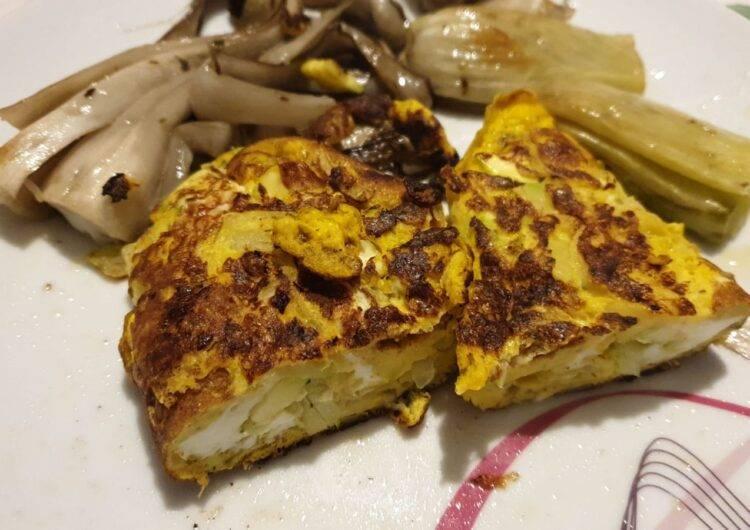 frittata zucchine e cipolle