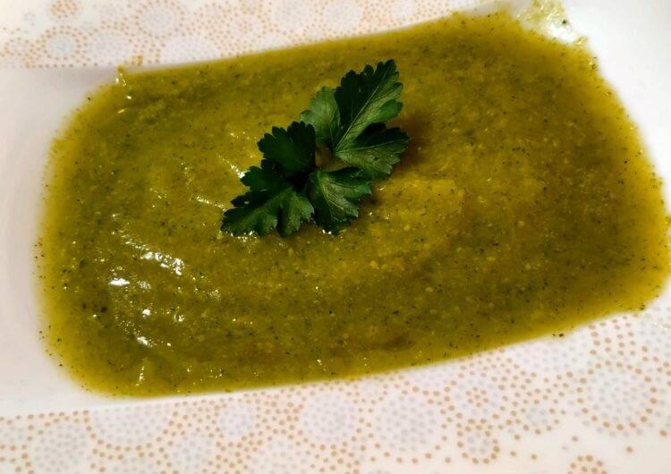 crema di finocchi porro e zucchine